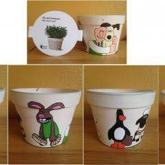 Wallace and Gromit Pot Plant