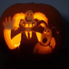 Wererabbit Wallace pumpkin
