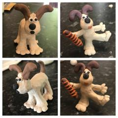 Gromit poses