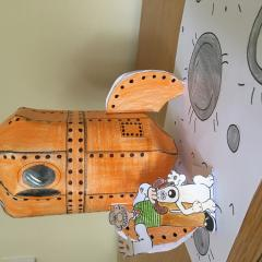 Wallace and Gromit Rocket