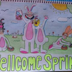 WELLCOME SPRING!