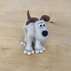 Cracking workshop, Gromit!