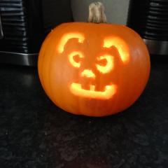 We're-Rabbit Pumpkin