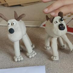 Gromit at Budleigh