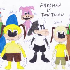 Aardman in Toontown