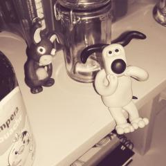 French vision of gromit