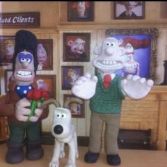 Wallace and Gromit and victor