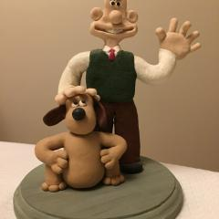 Wallace and Gromit Clay Creation