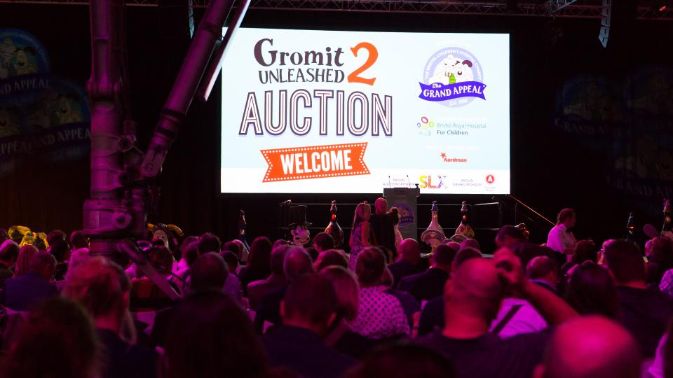 Gromit Unleashed 2 Auction!