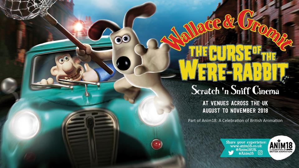 New Scratch 'n' Sniff Wallace and Gromit Screenings!