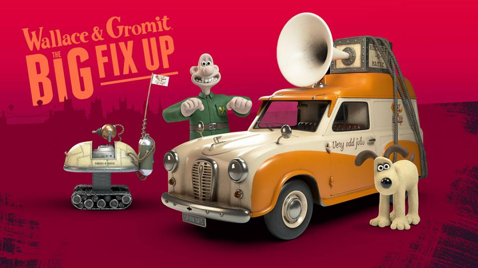 Join Wallace and Gromit for The Big Fix Up This Autumn!