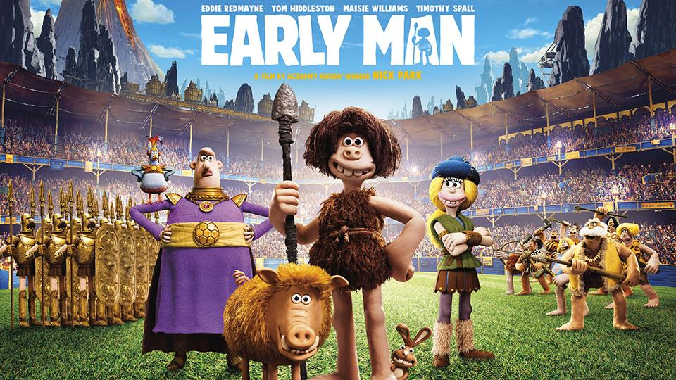 New Trailer for Nick Park's Early Man Released!
