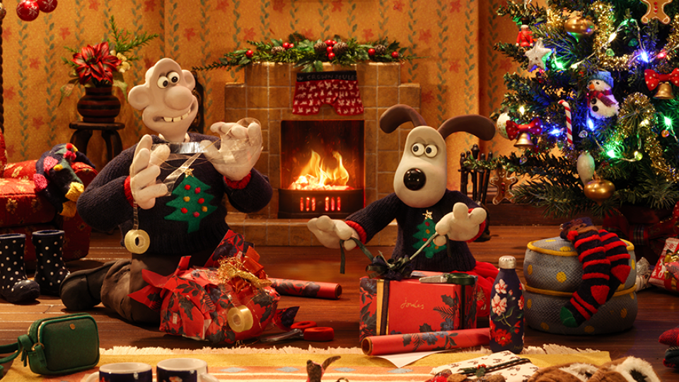 Wallace and Gromit Star in the Joules Christmas Advert!