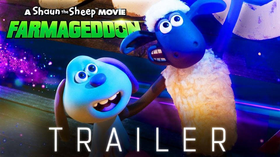 New Shaun the Sheep Farmageddon Trailer!
