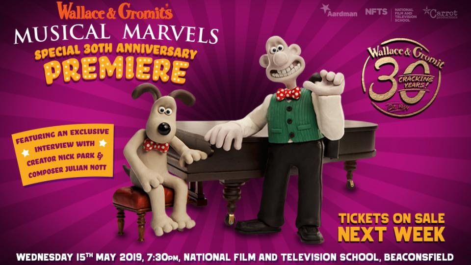 Wallace & Gromit's Special 30th Anniversary Premiere