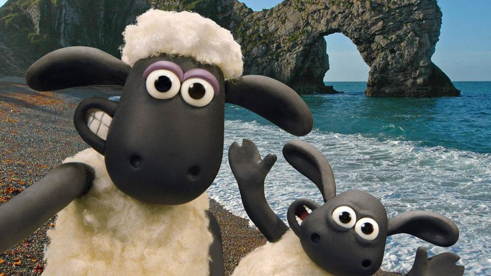 VisitEngland Campaign Features Shaun & Friends!