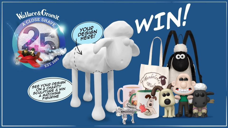 Design a Jumper for Shaun & Win an Amazing Prize!