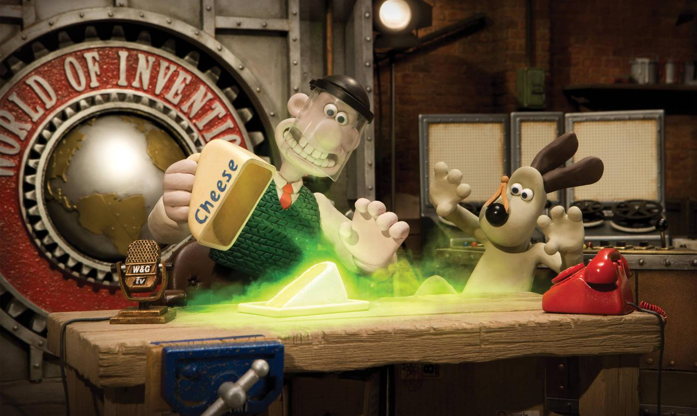 World Of Invention Wallace And Gromit